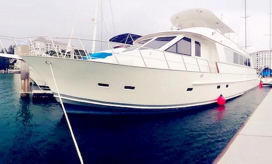Sevenstar 80' Halvorsen Charter @ Port Dickson
