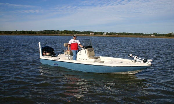 Skeeter Fishing Boat in Jacksonville, Florida with Captain Jeffrey