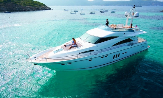 Sevenstar 68' Fairline Charter @ Port Douglas