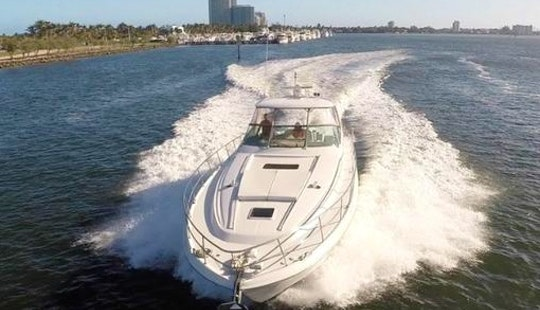 Luxury Yacht Party Rental - 55' Sundancer - Miami, Florida Keys, The Bahamas!