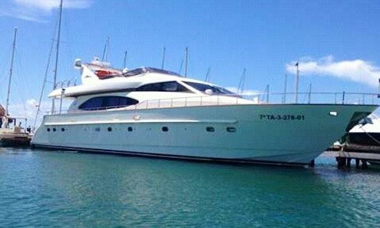 85' Power Mega Yacht Charter In Playa Del Carmen, Mexico