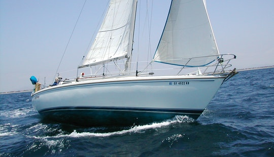 Sail On Cruising Monohull Charter In Oxnard, California