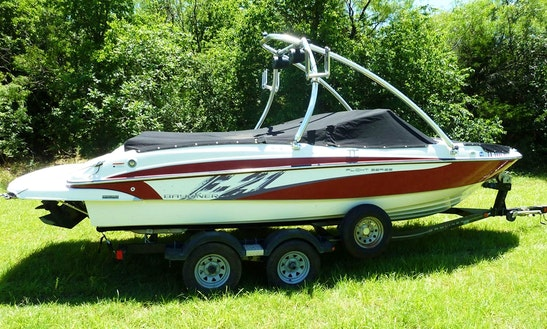 24ft Wakeboard Ski Party Boat. Any Ramp. Best Rate, Period!