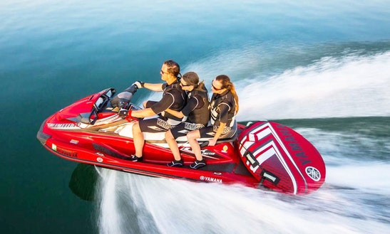 New Yamaha Jet Ski Vx Limited. Best Rate, Period! Any Ramp.