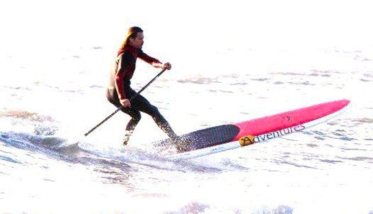 Enjoy Stand Up Paddleboarding In Rest Bay, Porthcawl, Wales