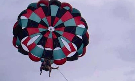 Enjoy Parasailing In South Sinai Governorate, Egypt