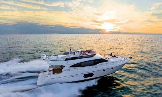 Sevenstar 51' Ferretti Charter @ Port Dickson
