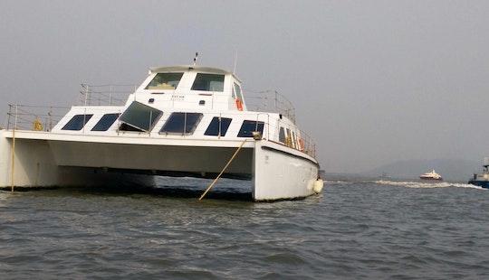 Power Catamaran Rental For Large Groups In Mumbai, India