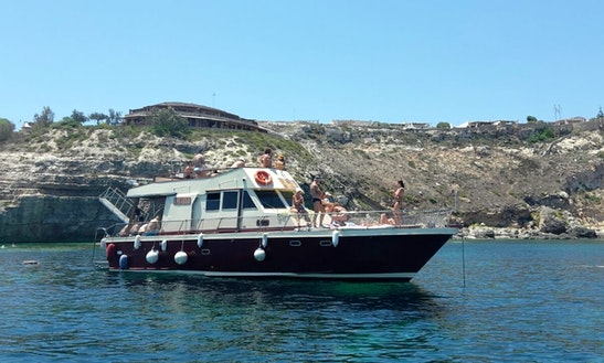 Explore Lampedusa, Sicilia With Captain Peter