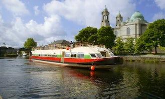 Explore Glasson, Ireland on 107' Canal Boat