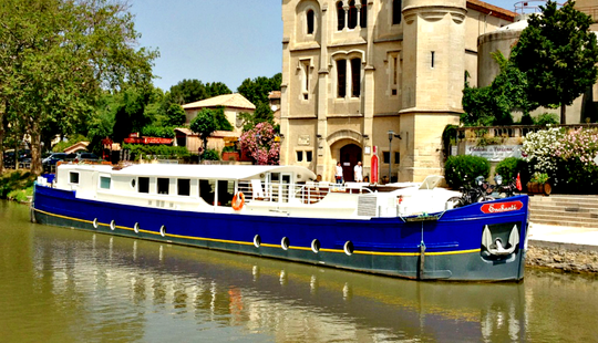 Explore Canal Du Midi, Trèbes On 100' Enchante Canal Boat