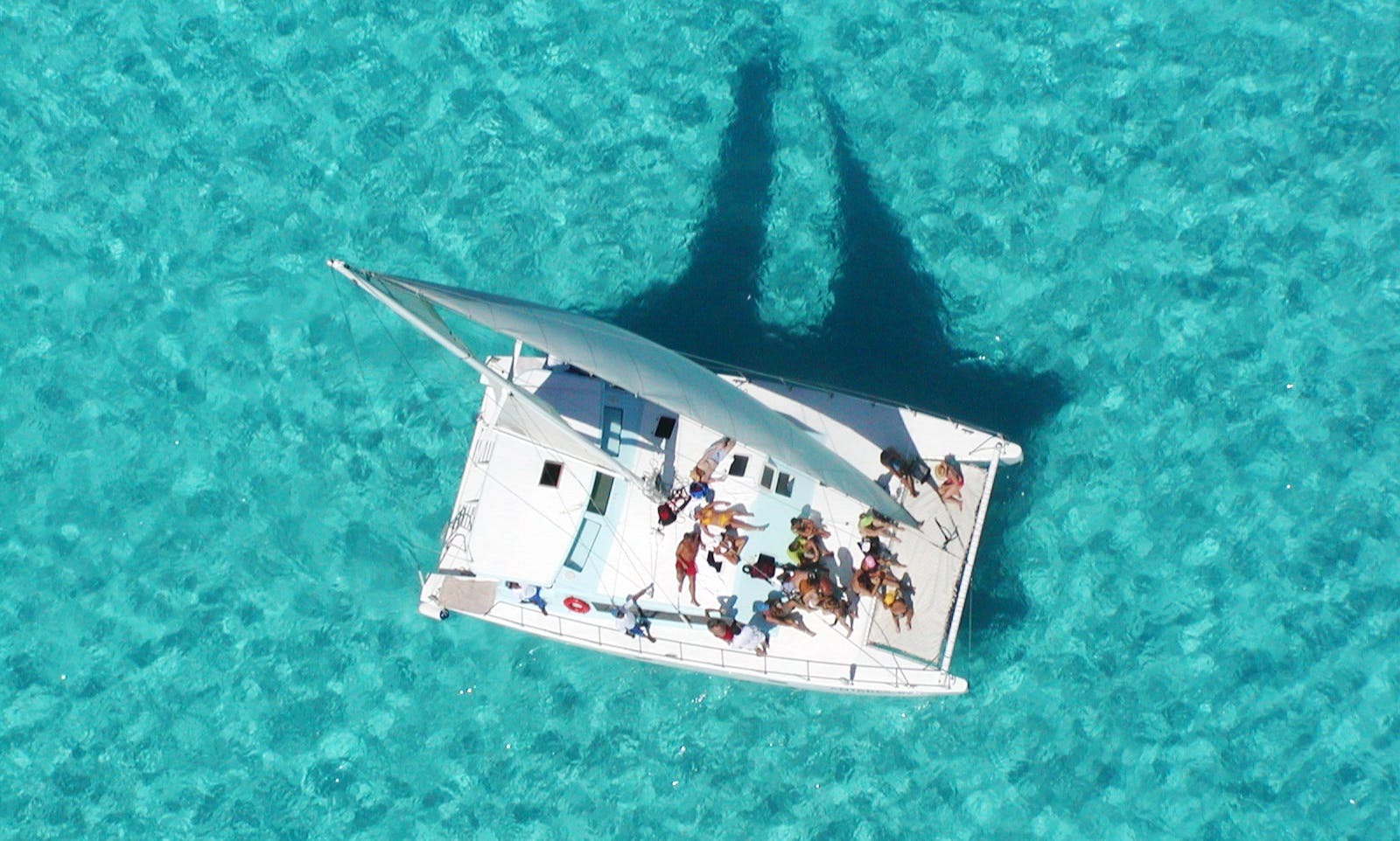 50' Cruising Catamaran Charter in Cancun, Mexico