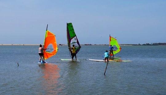 Windsurf Lessons And Rental In Kalpitiya, Sri Lanka