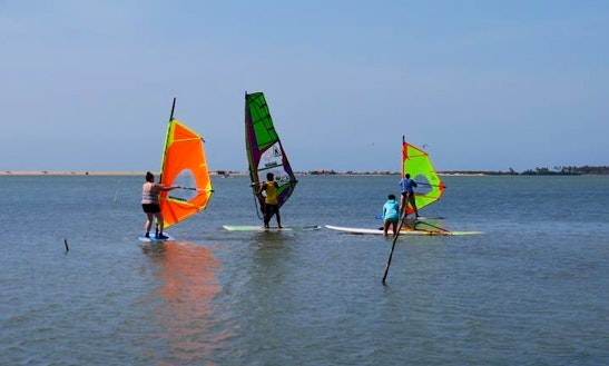 Enjoy Windsurf Lessons And Rental In Kalpitiya, Sri Lanka