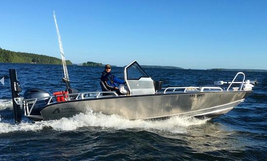 Enjoy Stockholm, Sweden Fishing By Boat!
