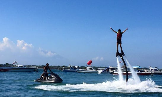 Book The Hottest Watersport, Flyboarding, Now In Kuta Selatan, Bali