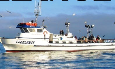 "90 Person Fishing Boat ""Freelance"" in Newport, CA"