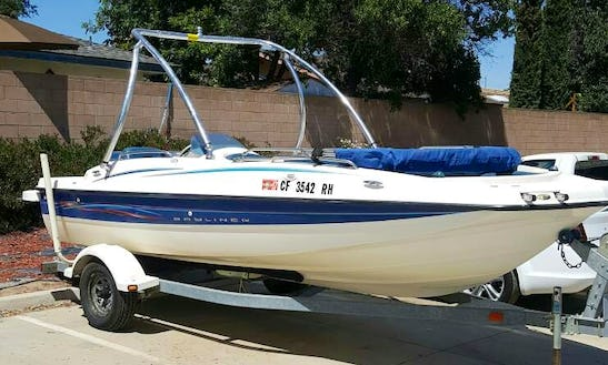 20ft Bayliner 197 Deck Boat Rental In Clovis, California
