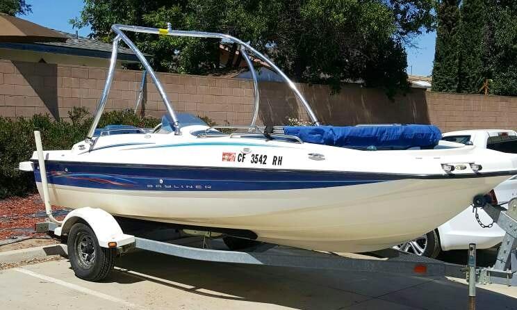 20ft Bayliner 197 Deck Boat Rental in Clovis, California