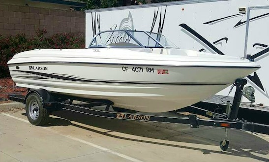 17ft Larson Bowrider For Waterskii In Clovis