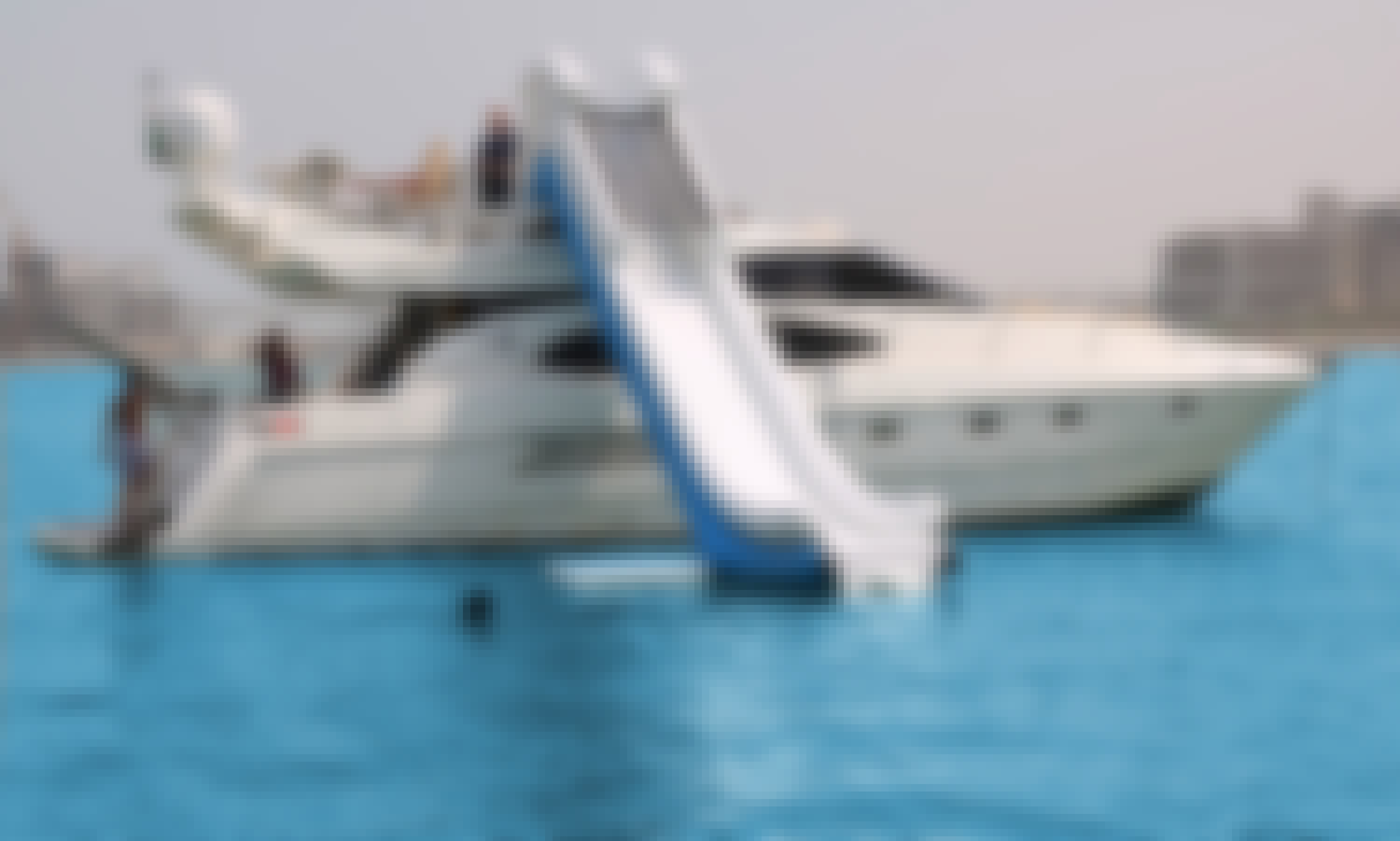 52' Azimuth Motor Yacht with Waterslide Charter In Dubai, UAE