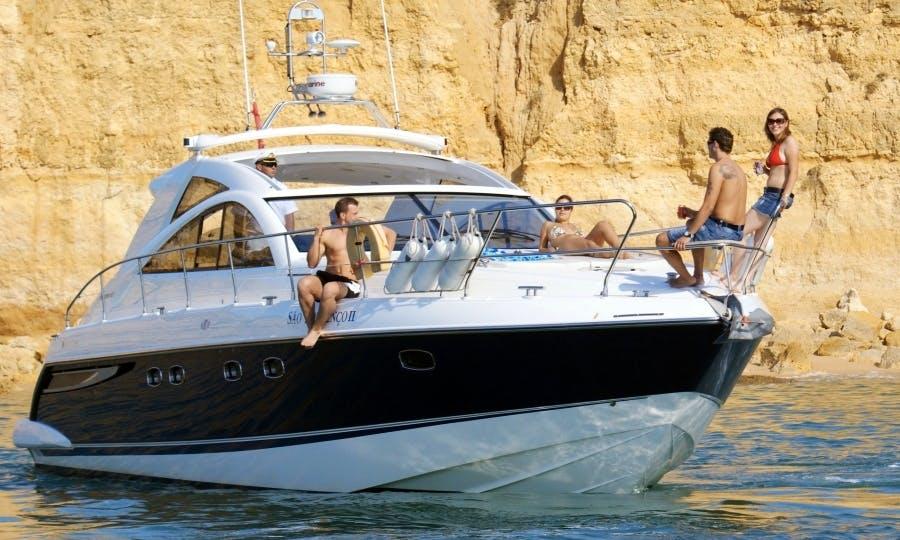 "Charter the ""Sao Lourenco II"" Fairline 47 Motor Yacht in Quarteira, Portugal"