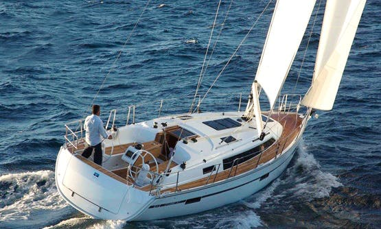 """Charter the 37ft """"Anemos"""" Bavaria Sailing Yacht in Rimini"""