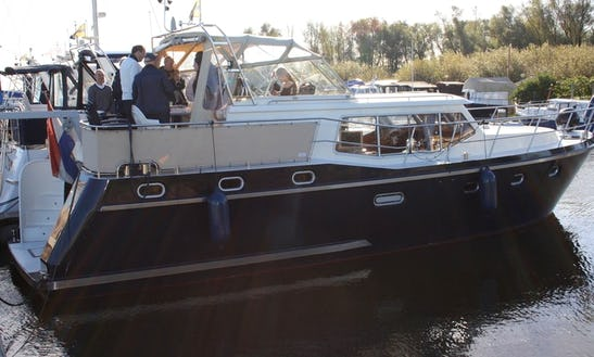 Explore Rotterdam, Netherlands On 42' Motor Yacht