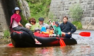 River Tours on Rivers Aschach, Innbach and Naarn, Upper Austria