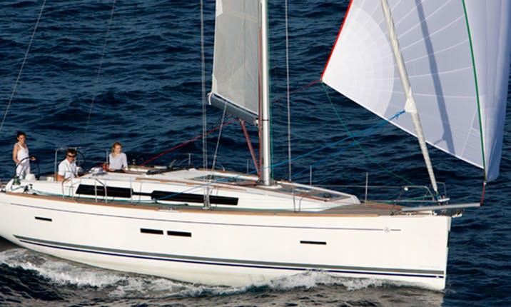 Sailing Charter on Dufour 405 Grand Large in Santa Cruz da Graciosa