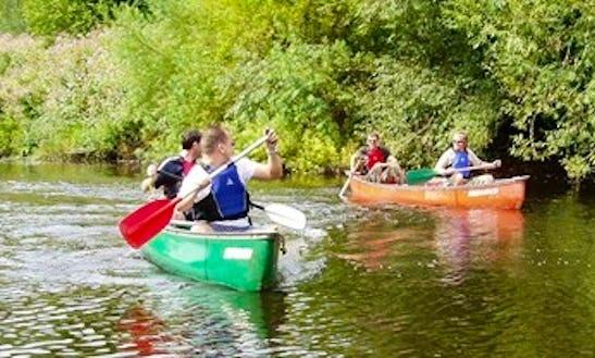 Explore River Wye, England On Canoe