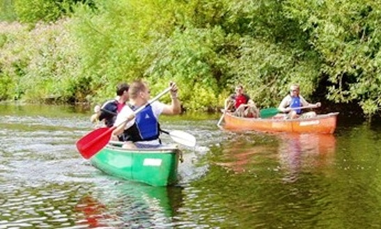 Explore River Wye, England On Canoe