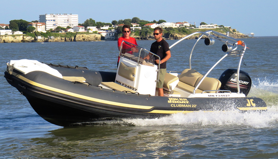 Rent 22' Rigid Inflatable Boat In Royan, France