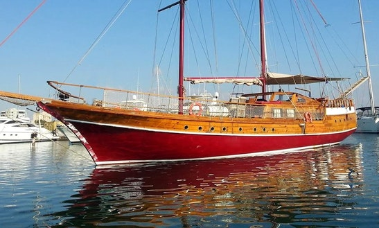 Explore Larnaca, Cyprus On 72' Gulet