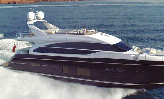 Explore Limasol, Cyprus By 82' Power Mega Yacht