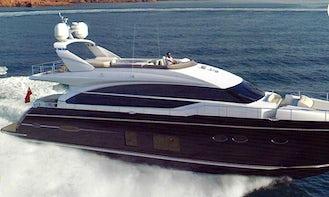 Explore Limasol, Cyprus by 82' Power Mega Yacht