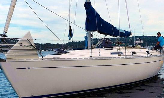 Charter 38' Dufour Cruising Monohull In Newport, Australia