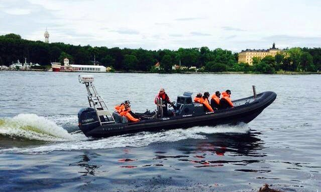 "Explore on our RIB ""Munin"" From Stockholms"