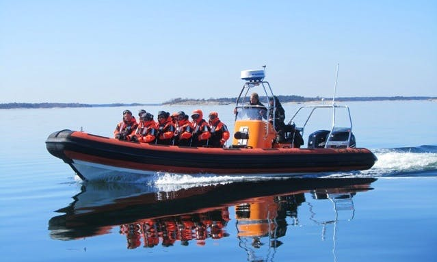 Explore Stockholm Water Water - RIB Charters With Captain