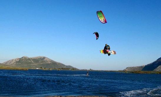 Enjoy Kiteboarding Lessons In Thessaloniki, Greece
