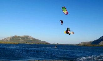 Kiteboarding Lessons in Thessaloniki, Greece