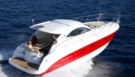 Rent The Beneteau Montecarlo 37 (2007)  Motor Yacht In Barcelona, Spain