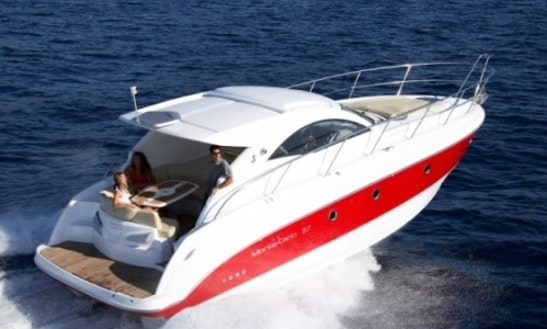 Rent The Beneteau Montecarlo 37 (2007)  Motor Yacht In Barcelona, Spain