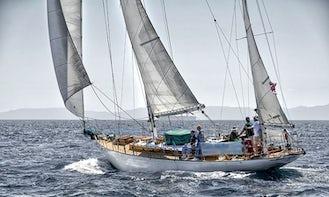 Sail San Diego on 56ft Jada Wooden Sailing Yacht