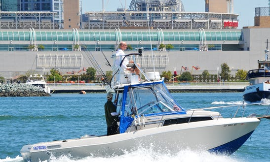 25' Chris Craft Scorpion Captained Charter In San Diego