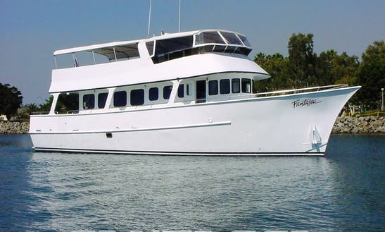 Charter 65' Motor Yacht Charter In San Diego, California