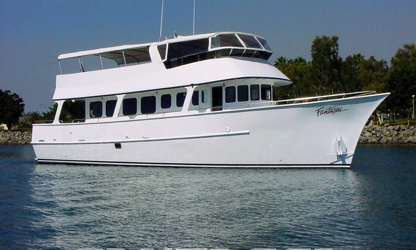 Charter 65' Motor Yacht Charter in San Diego, California