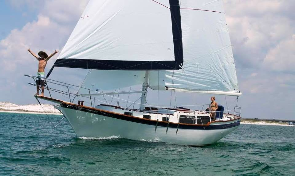 "Charter 42ft Sailboat ""Discovery"" In Destin, Florida"