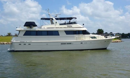 Motor Yacht In League City: Stay On Board Or Private Event Dockside