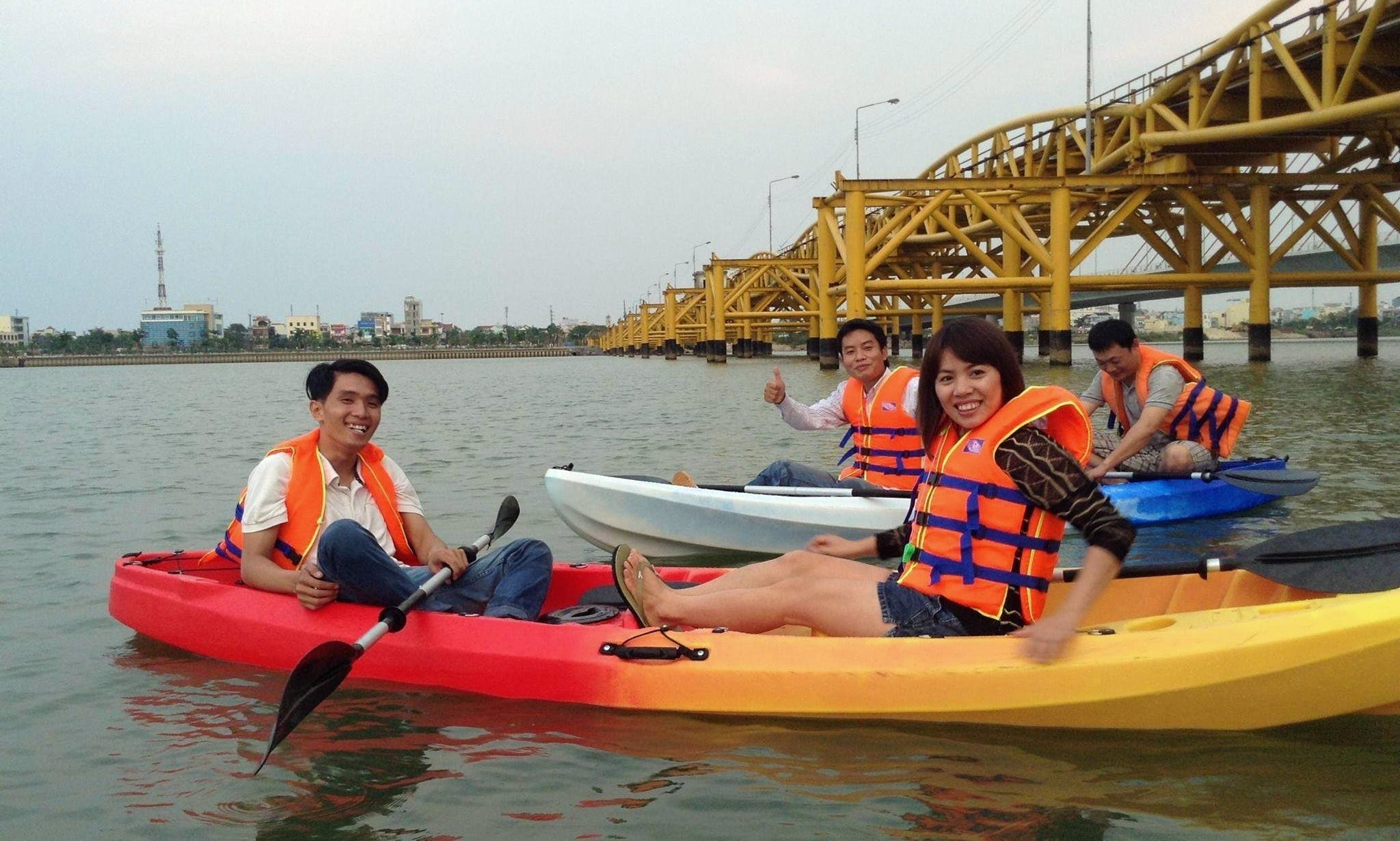 Kayak Rental in Da Nang city, Vietnam